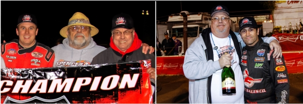 Ron Chaffin (in the middle on the picture on the left) and Ken Goecke (on the left in the picture on the right)