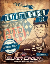 """TONY BETTENHAUSEN 100"" RESCHEDULED FOR SEPTEMBER 7"
