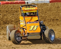 USAC Speed2 Midwest Thunder Midget point leader Aaron Leffel.