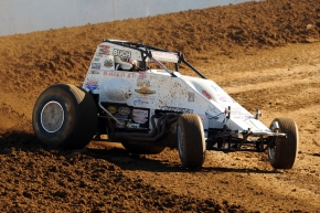 "Robert Ballou won Friday night's ""Bill Gardner Sprintacular"" at Lincoln Park Speedway."