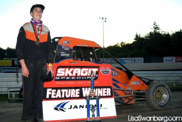Chase Goetz Earns #6 at Skagit.