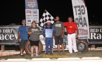 Andrew Deal grabbed Red Dirt's big 50-lapper Sunday.