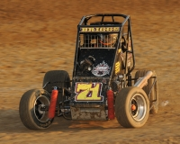 Stratton Briggs - 2nd in USAC Midwest Thunder Midget point standings