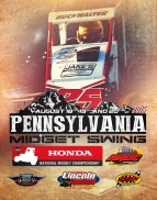 "MIDGETS FACE 3-RACE ""KEYSTONE STATE"" TOUR THIS WEEK"