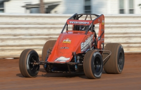 2017 Eastern Storm and USAC AMSOIL National Sprint Car titlist Chris Windom.