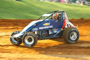 "CLAUSON SNEAKS BY SCHUERENBERG FOR BLOOMINGTON ""SPRINTWEEK"" SCORE"