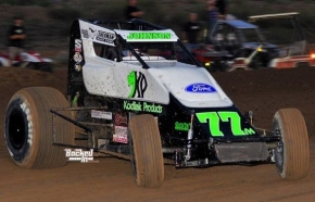 R.J. Johnson wins at Arizona Speedway.