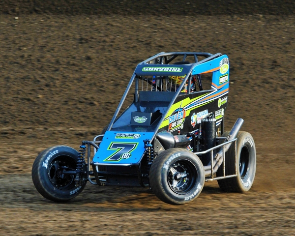 Indiana Midget Week Point Leader Tyler Courtney