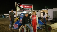 Ariel Biggs wins at Lemoore.