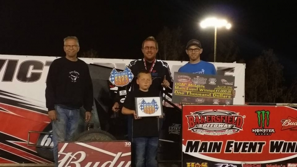Ronnie Gardner wins at Bakersfield.