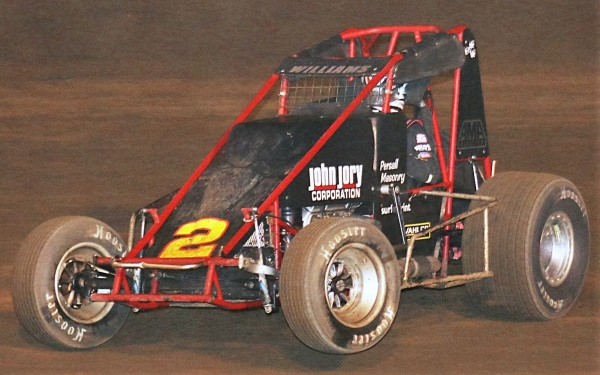 "Austin Williams won Saturday night's ""Glenn Howard Classic"" at Perris Auto Speedway."