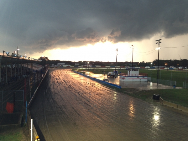 Wet at Terre Haute!