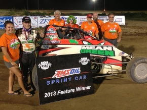 The Hoffman Auto Racing team celebrates their 82nd win as a team on Saturday at I-96.