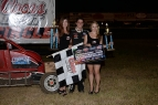 Jake Swanson won Saturday's Western Ignite Midget race at Santa Maria Speedway.