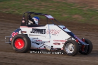 USAC IMRA Midget point leader Jeff Mallonee.