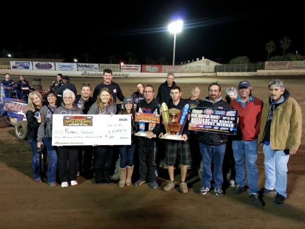 Ronnie Gardner and team celebrate again at Ventura.