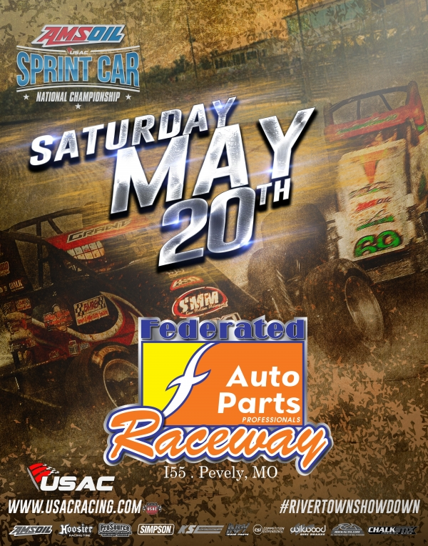 I-55 USAC SPRINT RIVER TOWN SHOWDOWN RAINED OUT