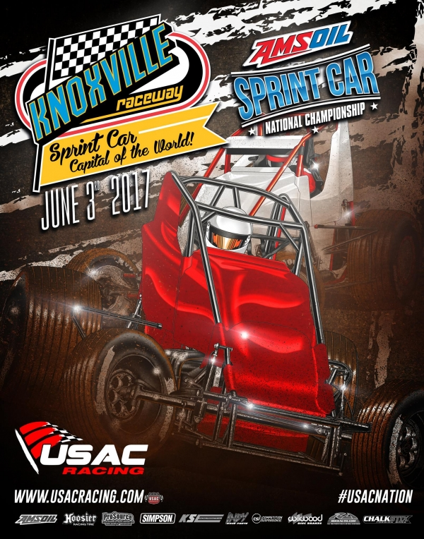 USAC'S KNOXVILLE RETURN THIS SATURDAY TO BE STREAMED BY THE CUSHION
