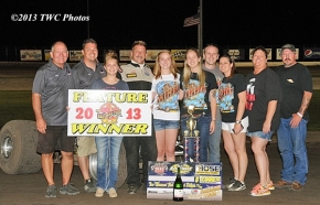 Rick Ziehl's 2nd Freedom Tour victory comes at Dodge City.
