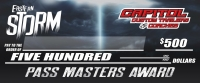 CAPITOL CUSTOM TRAILERS & COACHES PASS MASTER STANDINGS: After Rd. 1 of 6