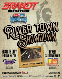 FRIDAY'S GRANITE CITY USAC SPRINT RACE RAINED OUT