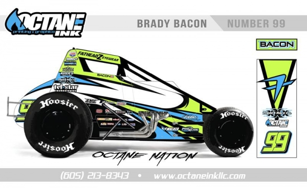 BRADY BACON TO CHASE USAC SPRINT CAR TITLE IN BBR NO. 99
