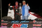 "Tyler Thomas captured his first career USAC AMSOIL National Sprint Car victory Friday night during ""Smackdown VII"" night two at Kokomo Speedway."