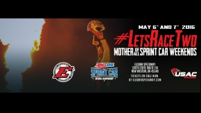 #LETSRACETWO USAC SPRINT FRIDAY LIVE UPDATES