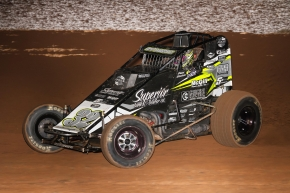 "Chase Stockon won his first USAC AMSOIL National Sprint Car feature in 16 months Saturday night in the 50th Annual ""Western World Championships"" at Arizona Speedway."