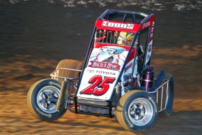 USAC Triple Crown champ Jerry Coons, Jr.