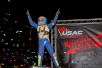 Indiana Midget Week point leader Michael Pickens