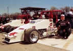1997 USAC National Sprint Car champion Brian Tyler of Parma, Michigan