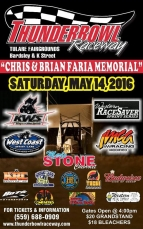 WEST COAST PREPARES FOR SATURDAY'S FARIA MEMORIAL AT TULARE; SUSSEX SCORES MOTHER'S DAY VICTORY IN ARIZONA