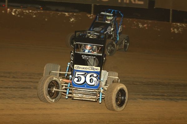 "HAGEN WINS NIGHT 2 HONDA NATIONAL MIDGET THRILLER AT ""WESTERN WORLD"""