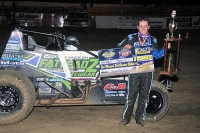 Brady Bacon wins at Creek County.