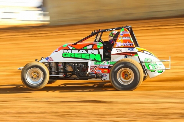 BACON REPELS BALLOU FOR SPRINT WEEK WIN AT LAWRENCEBURG