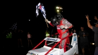 Shane Cottle won his first career NOS Energy Drink Indiana Sprint Week race in his 72nd start Thursday at Gas City I-69 Speedway.