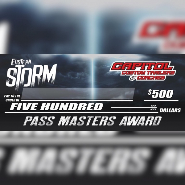 CAPITOL CUSTOM TRAILERS & COACHES PASS MASTER STANDINGS: After Rd. 5 of 6