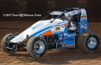 "Ryan Bernal won Saturday night's USAC/CRA AMSOIL Sprint Car feature at Calistoga (CA) Speedway, night one of the 9th Annual ""Louie Vermiel Classic"" and the opening round of ""California Sprint Week."""