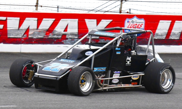 Bobby Santos in May at Lucas Oil Raceway.