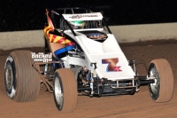 "#7K ""The Radio Flyer"" Bruce St. James – 12th in USAC SouthWest Sprint Car Point Standings."