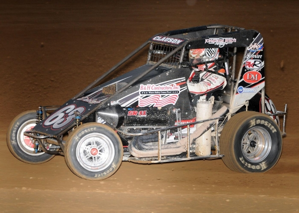 CLAUSON STORMS TO LINCOLN PARK MIDGET WEEK WIN