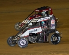 Lawrenceburg USAC NOS Energy Drink National Midget action.