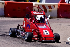 Colby Sokol of Colorado took home 4 wins from the Mini Copper Cup at Phoenix Raceway.