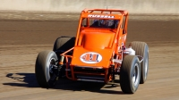 Steven Russell, son of Jerry Russell, will compete in this Sunday's Bettenhausen 100 presented by Fatheadz Eyewear at the Illinois State Fairgrounds in Springfield.