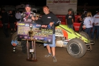 DARLAND TAKES THE ROAD LESS TRAVELED TO WIN NIGHT TWO OF THE OVAL NATIONALS