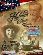 "46TH ""TONY HULMAN CLASSIC"" WEDNESDAY AT T.H.A.T.; WEIR, THOMAS NOTCH INDIANA SPRINT WINS"