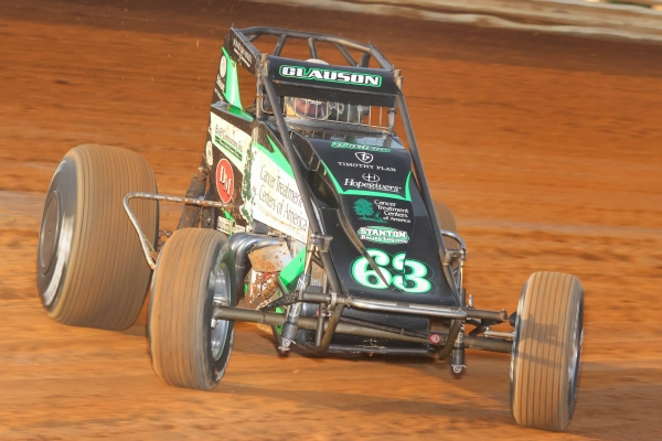 Bryan Clauson tied Gary Bettenhausen for 7th all-time on the USAC National Sprint Car win list with his 40th career victory at Port Royal (PA) Speedway Saturday night.