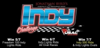 KOKOMO TO OPEN BYRD'S INDY CHALLENGE SUNDAY