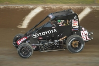 "Rico Abreu returns to Eldora Speedway this Saturday night to defend his ""4-Crown Nationals"" USAC National Midget victory."